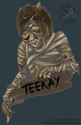 Totalus_Kat - Halloween Badge|by IndiWolf