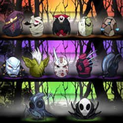 Batch 4,5,6 Preview : Halloween Special|by InkMagus