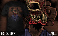 Face Off - Shirt|by HerrAardy