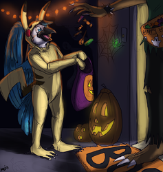 Halloween Treats|by Apollojay89