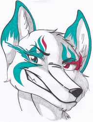 Revamp of fursona|by Rhiverryo