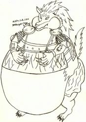 Fat Royakan (Inuyasha)|by Yoshiknight2