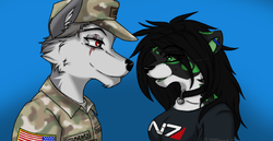 Couples Icon - Kiran and I|by ChaosInTrance