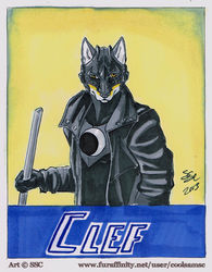 Clef Badge by Shadowsky|by RondoGator