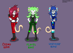 The Rave Sisters|by Flavel