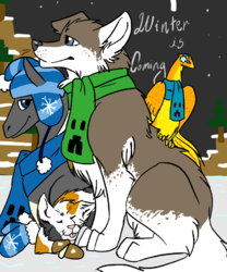 Winter is Coming!|by Tenny_Colliewolf