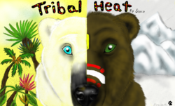 Tribal Heat Cover|by blondehusky