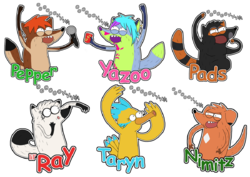 "Regular Show ""OOOOOHHH!!!"" Badges Batch 10