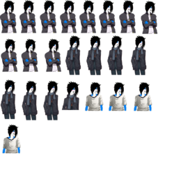 Ian Sprite Sheet 1|by Bell_the_gaomon
