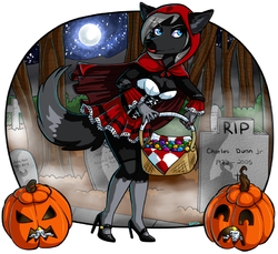 Lillys Halloween|by zenia