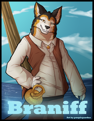 badge for braniff|by purplepardus