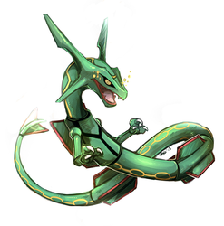 Shoto the Rayquaza|by ZsisronDarkwater