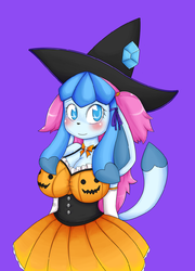 Ming-Ming Pumpkin Witch|by basketgardevoir