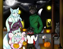 Trick or Treat? (By natysanime)|by icyfoxy