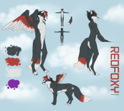 RedFoxy Darrest Reference Picture by silenthowl|by RedFoxy Darrest