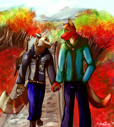 A Lovely Stroll|by Asher Tail