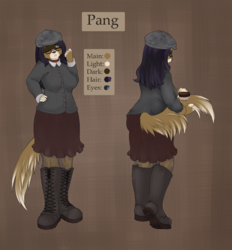 Commission - Pang Reference (Clothed)|by Spix