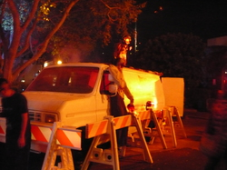 Halloween Horror Nights: Main Entrenice/ truck|by Master Sgt Duncan