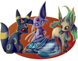Pokemon - Eeveelutions 2|by TideKeeper