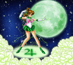 Sailor Jupiter|by HaruShadows