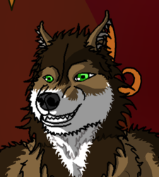 Smoking wolf|by Depraved Indifference