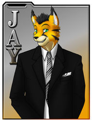 cms524/ Badge: Jay|by darkgoose