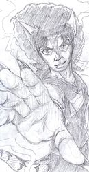 Afro Thunder®: Zaire Ezekiel [Draft sketch]|by DOMiNO UKAE