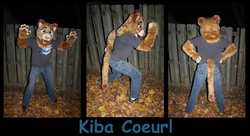 Kiba Coeurl Fursuit|by Lonewolf Artz