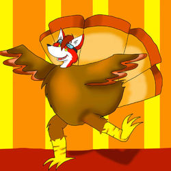 Max in a Turkey Suit|by RollerCoasterViper