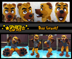 My Fursuit! :-)|by GothBear