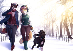 Walkin' in a Winter Wonderland|by panic_panic