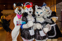 French Maids - MFF 2013|by FoxLightning