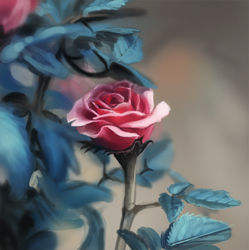 Speedpaint - Rose|by GaiasAngel