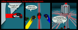 Yiffox Adventures #241:  To Find One's Digital Balls|by Cobra Mcjingleballs