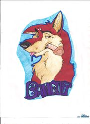 Bandit Badge|by HolidayPup