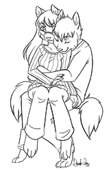Holiday Cuddles|by Devoid-Kiss