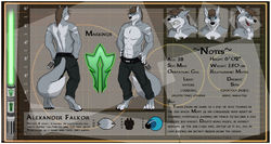 [CM - Alexander Falkor] Detailed Character Sheet|by Ceowolf