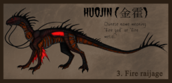 Huojin|Fire Raijage|by JazzyPants