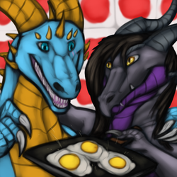 Drakion Eggs|by KiEruu