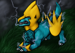 Manectric|by KiEruu