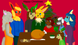 Family christmas|by wolfgirl01