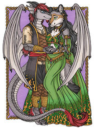 Luthien and Pachua|by Kalika_Tybera