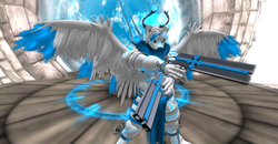 Seraphorlin - Angel of Destiny - Angel with a shotgun..Kinda|by ShadowWolf Lane