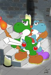 Legend of Yoshi- colored|by Fox_Dreamz