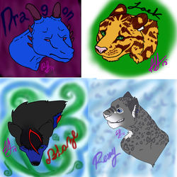 Feral Freebies 12/11/13|by ChazThePanwere