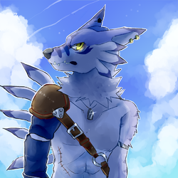 weregarurumon|by f0r0