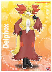 Pokemorph Delphox|by Shinn