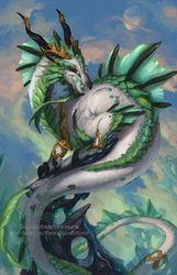 2014 Zodiac Dragons - Capricorn|by Sixthleafclover
