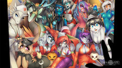 Trick or Treat, multicharacter picture (October 2013)|by ABD