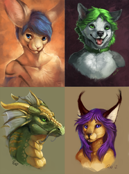 Old Art- Gift Busts|by Rhyu
